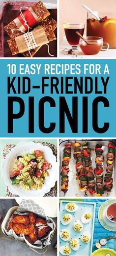 17 quick and easy picnic recipes your kids will love We've done all the planning for you with this kid-friendly picnic menu. Menu Picnic, Picnic Potluck, Picnic Dinner, Picnic Lunches, Picnic Ideas, Church Picnic, Picnic Time, Summer Picnic, Picnic Parties