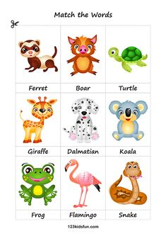 Animals picture cards printable – A Selection of Pins about Animals Printable Animal Pictures, Animal Pictures For Kids, Printable Animals, Printable Flashcards, Flashcards For Toddlers, Free Activities For Kids, Learning Games For Kids, Worksheets For Kids, Fruits For Kids