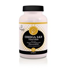 90 softgels per bottle Organic Flax Seed Oil (Unrefined, Cold Pressed) Produced in an USA Organic Certifiers approved facility Omega 3 - Alpha Linoleum Acid 550mg per soft gel Omega 6 - Linoleic Acid 150mg per soft gel Omega 9 - Oleic Acid 186mg per soft gel 1g of total healthy vital fat per soft gel Per WebMD: men, women and children must have healthy fats in their diet for optimal health Delivers optimal amounts of each vital oil (healthy fats) in a highly absorbable manner USA sourced…