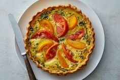 A Timeless Tomato Tart - The New York Times