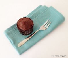 Delicious chocolate muffins made from nutrient dense ingredients. Free from gluten, grains, dairy, nuts and refined sugar. Paleo Chocolate, Chocolate Muffins, Chocolate Recipes, Delicious Chocolate, Chocolate Cupcakes, Gluten Free Muffins, Healthy Muffins, Healthy Desserts, Whole Foods Cake