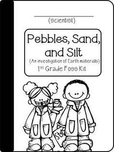 PEBBLES, SAND, AND SILT- (FOSS) A FUN, KID FRIENDLY SCIENCE JOURNAL - TeachersPayTeachers.com
