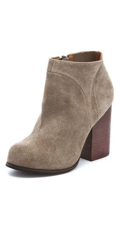 Jeffrey Campbell Hanger Suede Raw Booties -- just ordered these! Can't wait for them to come in.