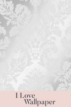 This gorgeous new paper features a beautiful pewter background, brought alive by the metallic highlighted damask artwork and finished with a delicate coating of glitter, providing a luxurious, welcoming and fresh feel to any living area in your home. Damask Wallpaper, Love Wallpaper, Living Area, Pewter, Metallic, Delicate, Glitter, Romantic, It Is Finished