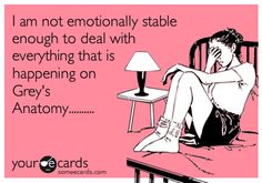 Not true...bring it on McSteamy and McDreamy !!!!!