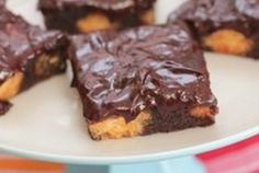 Glazed Donut Hole Brownies — Recipe from Picky Palate
