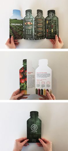 < JUICE >Student Name: Hye Sun Seo Designnas Student Design – Tables and desk ideas Pamphlet Design, Leaflet Design, Booklet Design, Book Design Layout, Brochure Indesign, Template Brochure, Brochure Layout, Stationery Templates, Corporate Brochure
