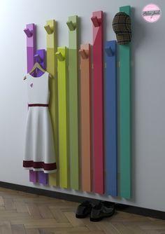 Garderoben - Garderobe - Handmade in Germany - ein Designerstück von atelierjonda bei DaWanda
