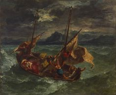 File:Eugène Delacroix - Christ on the Sea of Galilee - Google Art Project (27796212).jpg - Wikipedia, the free encyclopedia