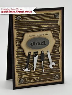 Splotch Design - Jacquii McLeay Independent Stampin' Up! Demonstrator: Father's Day Cards