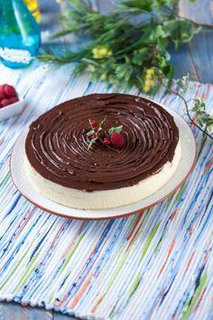 Tarte fresca de nata e chocolate  TeleCulinária nº 1835 www.teleculinaria.pt