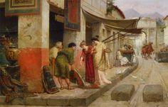 Ettore Forti, Merchant at Pompeii (Italy)