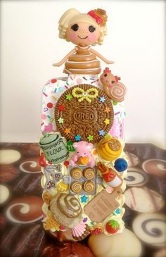 Cute Sugar & Spice Lalaloopsy iPhone 4  4S case  by claysweetdeco, $56.00