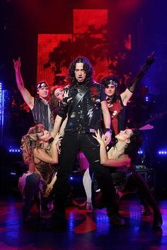 Rock of Ages on Broadway. Constantine Maroulis was the best Drew!