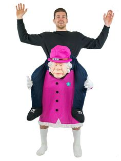 Adult Mens Ladies Carry Ride On Fancy Dress Costume Outfit Halloween Stag Hen , Costume Halloween, Costume Wigs, Christmas Costumes, Halloween Outfits, Animated Halloween Props, Stag And Hen, Trick Or Treat Studios, Bodysuit Costume, Street Style Edgy