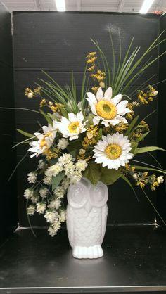 Owl vase design...Robin Evans