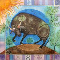 AstroSpirit / Taurus ♉ / Earth / taureau par Jane Ray