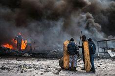 Чтобы никогда не забыть: 60 самых впечатляющих фото противостояний в Киеве - Редкие заметы немолодого идеалиста