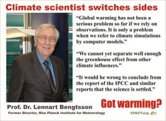 Nuclear Winter/Global Warming/Climate Change/Climate Extremes Science is not settled science.