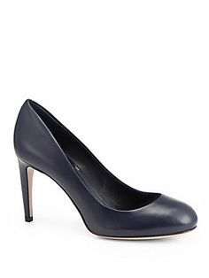 Gucci Goldie Pumps in Navy - exclusively for Saks 5th Avenue