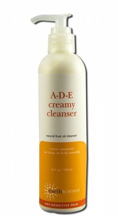 A-D-E Creamy Cleanser - 8 fl. oz. by Earth Science (pack of 2) Bare Escentuals bareMinerals Purely Nourishing Moisturizer: Combination Skin