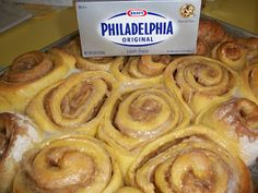 Pumpkin Cream Cheese Sweet Rolls