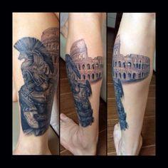 roman centurion tattoo - Google Search