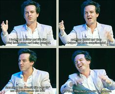 Andrew Scott talks Twitter...and that's why I don't do twitter.