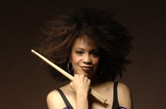 Cindy Blackman, sometimes known as Cindy Blackman-Santana, is an American jazz and rock drummer. Blackman is best known for recording and touring with Lenny Kravitz.