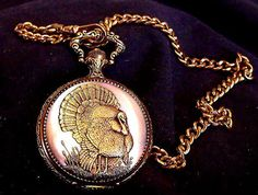 Collectible Pocket Watch Renowned Wildlife by EstatesInTime