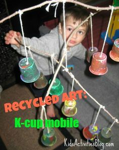 Recycled Art: Creating a K-Cup Mobile