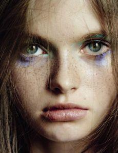 Photo of Model Avery Blanchard  Photographer: Mario Testino