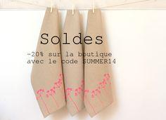 Les Miniboux font des Soldes !  Profitez de -20% sur toutes vos commandes, du 25 juin au 2 juillet sur la boutique www.lesminiboux.etsy.com en entrant le code SUMMER14 lors du paiement. #soldesété #soldes  Summer Sale !  Les Miniboux on sale from 25th of june until 2nd of july on the #etsy shop www.lesminiboux.etsy.com use the coupon code SUMMER14 at checkout to get 20% off on any order