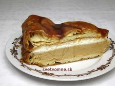 Do you love profiteroles but complicated preparation or past failures discourages you? Czech Recipes, Russian Recipes, Profiteroles Recipe, Cold Cake, Butterscotch Pudding, Sweet Recipes, Dessert Recipes, Food And Drink, Cooking Recipes