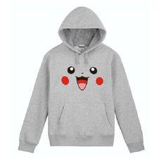 Pokemon Costume pikachu face Anime spring  sweater by pokcosplay, $59.99
