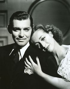 Crawford and Gable pictured above from the 1936 movie Love on the Run.