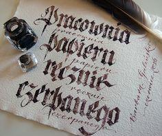 baga Barbara Galinska - kaligrafia on Behance