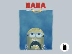 Nana Unisex Tank - $11.00 + $5 standard shipping