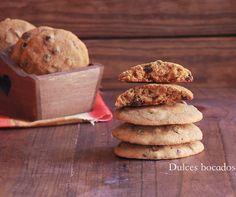 Dulces bocados: Cookies de calabaza con gotas de chocolate