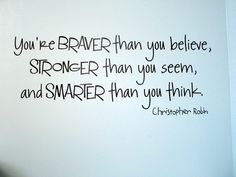 Christopher Robin to Winnie the Pooh