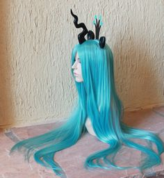 Queen Chrysalis costume wig - my little pony costume / friendship is magic / Queen Chrysalis cosplay. $160.00, via Etsy.
