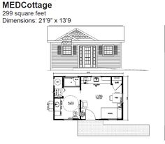 Granny pods the medcottage a portable high tech for Washington state approved house plans