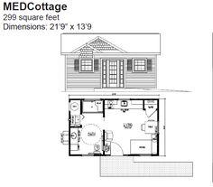 Medcottage grand floor plan tiny houses pinterest for Med cottage