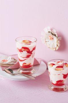 Erdbeertiramisu im Glas