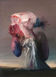 Gestural painting by Joseba Eskubi | the PhotoPhore