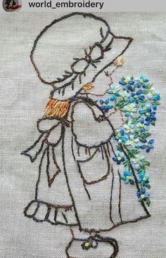 Clivia... - Salvabrani Brazilian Embroidery Stitches, Basic Embroidery Stitches, Hand Embroidery Videos, Hand Embroidery Patterns, Embroidery Techniques, Cross Stitch Embroidery, Machine Embroidery Designs, Handmade Embroidery Designs, Creative Embroidery