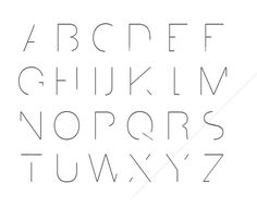 minimalism typography results - ImageSearch Hand Lettering Alphabet, Calligraphy Alphabet, Typography Fonts, Typography Design, Arquitectura Logo, Typographie Logo, Minimal Font, Writing Fonts, Graffiti Font