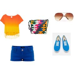 pretty summer outfittt<3 Want.,