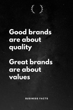 Great brands are built around moral values. Digital Marketing Quotes, Digital Marketing Strategy, Sales And Marketing, Business Marketing, Marketing And Advertising, Media Marketing, Business Motivation, Business Quotes, Business Tips