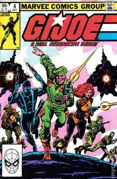 G.I. Joe: A Real American Hero (IDW, 1982) #4